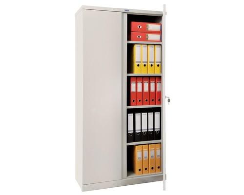 Шкаф архивный металлический Практик М-18 915x370x1830 мм - (74340К)