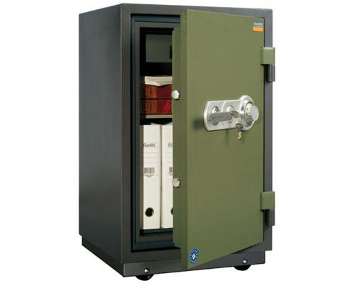 Сейф огнестойкий Valberg FRS-80 TCL с трейзером ключевой и механический замки - (178990К)
