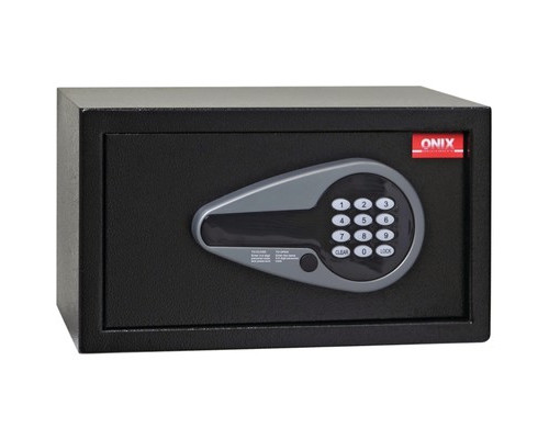 Сейф гостиничный ONIX H20E черный электронный замок - (618487К)