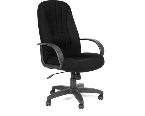 Кресло для руководителя Chairman 685 черное ткань/пластик - (53826К)