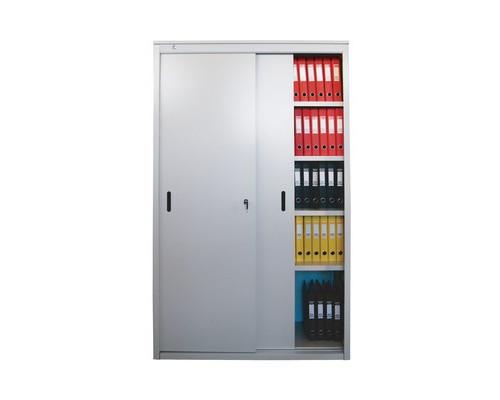 Шкаф-купе архивный металлический AL2012 1200x450x2000 мм - (80877К)