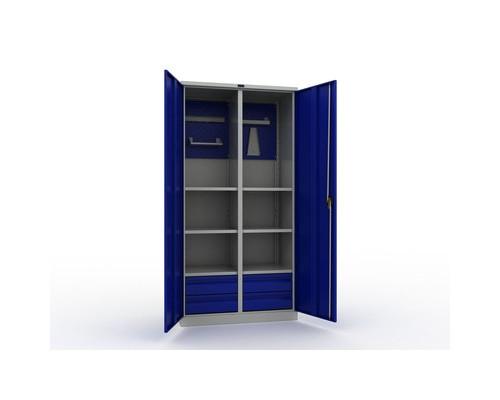 Шкаф инструментальный Практик комплект №3 950x500x1900 мм - (450829К)