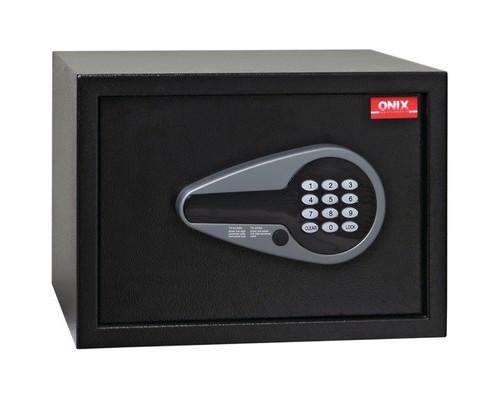 Сейф гостиничный ONIX H25E черный электронный замок - (618488К)