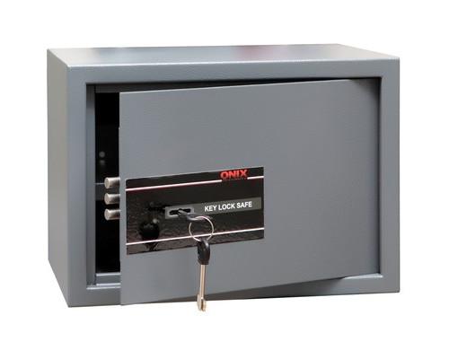 Сейф мебельный Onix LS-25 K черный ключевой замок - (194392К)