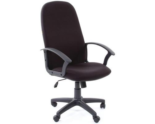 Кресло для руководителя Chairman 289 черное ткань/пластик - (439402К)