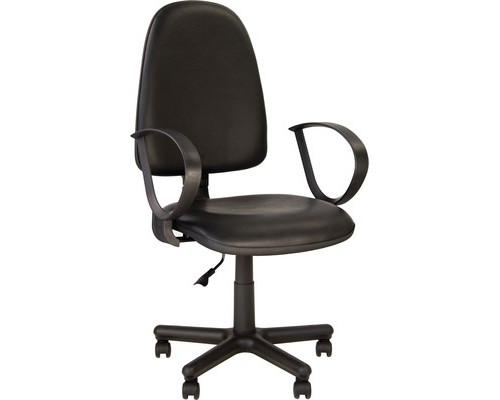 Кресло офисное Jupiter черное искусственная кожа/пластик/металл - (508874К)