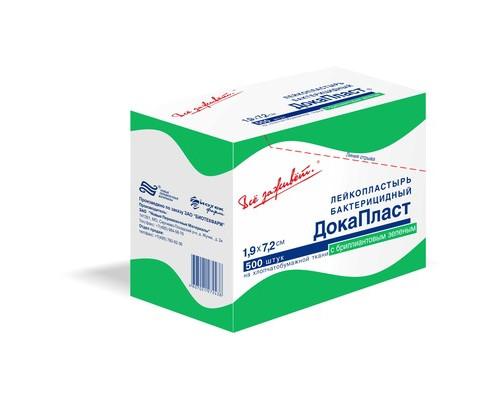 Пластырь ДокаПласт , бактерицидный, 1,9х7,2 см, №5