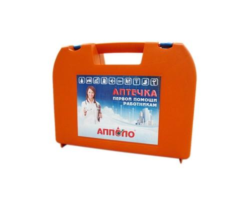 Аптечка первой помощи работникам пласт.чемодан по приказу №169н