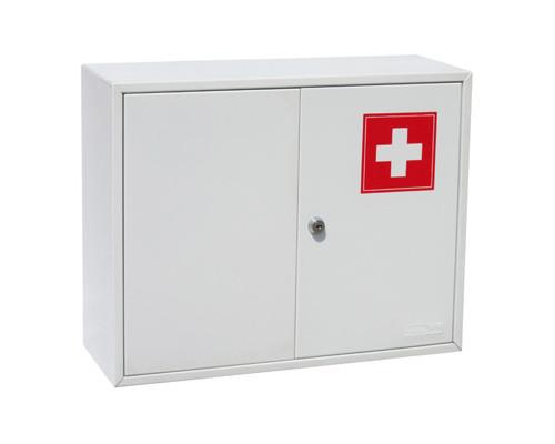 Метал.Мебель Office-Force Аптечка20098,2 двери,450х150х360