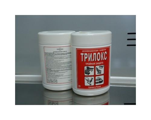 Дезсредство Трилокс, салфетки 90 шт/уп, туба