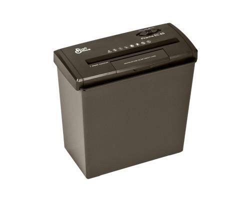 Уничтожитель документов ProfiOffice Piranha EC 6 S 2-й уровень секретности объем корзины 10 л - (453096К)