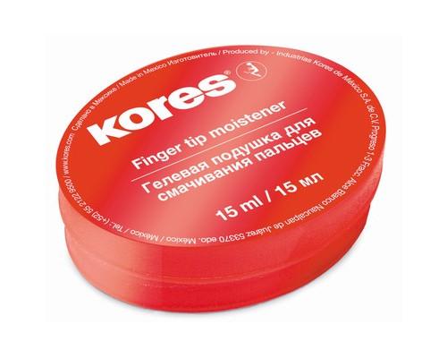 Подушка для смачивания пальцев гелевая Kores 15 мл - (72642К)