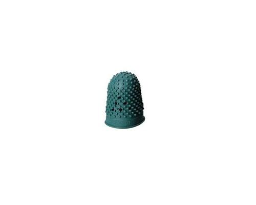 Напальчник для бумаги резиновый зеленый диаметр 16 мм высота 27 мм - (343199К)