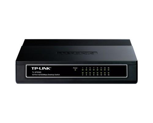 Коммутатор TP-Link TL-SF1016D - (487324К)