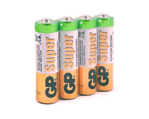 Батарейки GP Super пальчиковые AA LR6 4 штуки - (222159К)