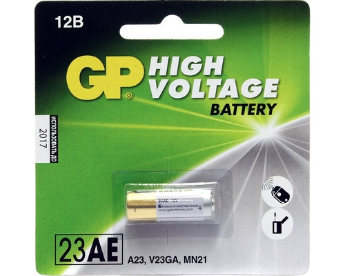 Батарейка GP 23AE - (13073К)