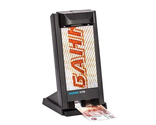 Детектор банкнот просмотровый Dors 1170 - (677386К)