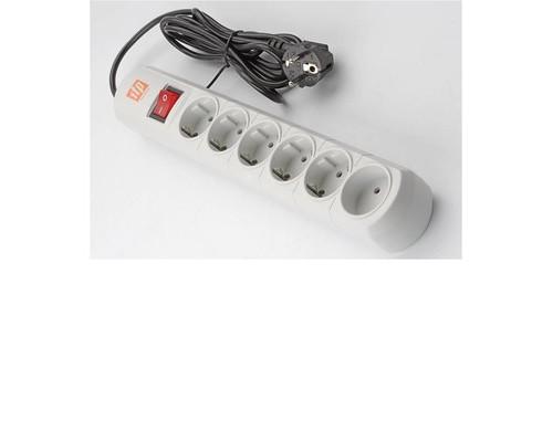 Сетевой фильтр ITP Home 6 розеток 3 метра - (620439К)
