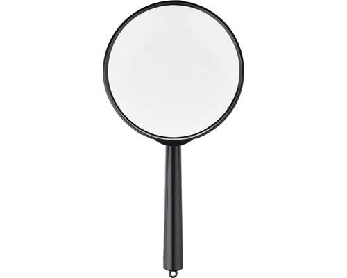 Лупа Attache диаметр 90 мм кратность увеличения 7 черная - (627375К)