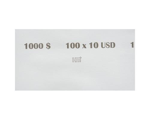 Кольцо бандерольное номинал 10 $ 40х76 мм 500 штук в упаковке - (604141К)