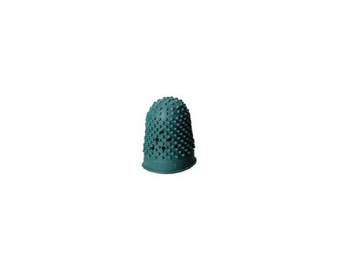 Напальчник для бумаги резиновый зеленый диаметр 18 мм высота 30 мм - (343200К)