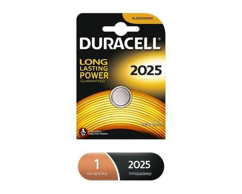 Батарейка Duracell Ultra таблетка CR2025 - (376876К)