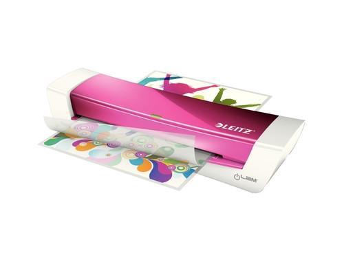 Ламинатор Leitz iLam Home Office формат А4 розовый - (610838К)