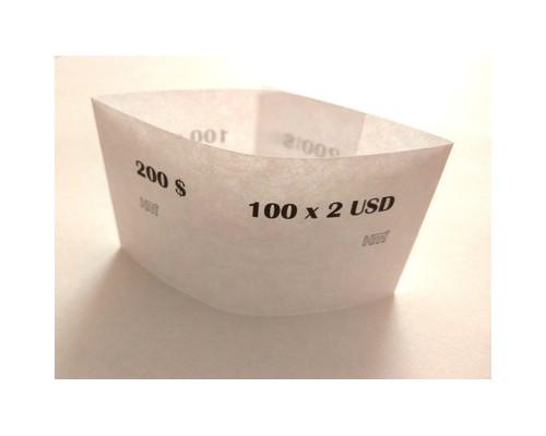Кольцо бандерольное номинал 2 $ 40х76 мм 500 штук в упаковке - (604140К)