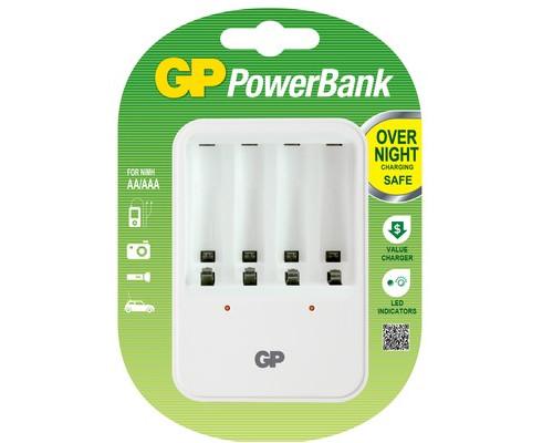 Зарядное устройство GP PB420GS для 4-х аккумуляторов АА/ААА - (391074К)