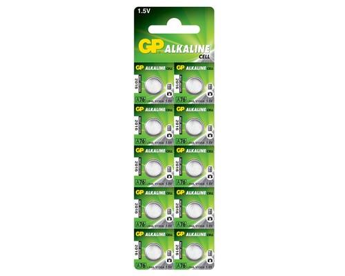 Батарейки GP таблетка A76-BC10 10 штук в упаковке - (573367К)