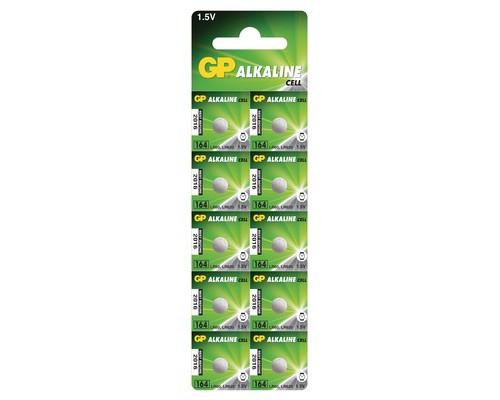 Батарейки GP таблетка 164-BC10 10 штук в упаковке - (573369К)