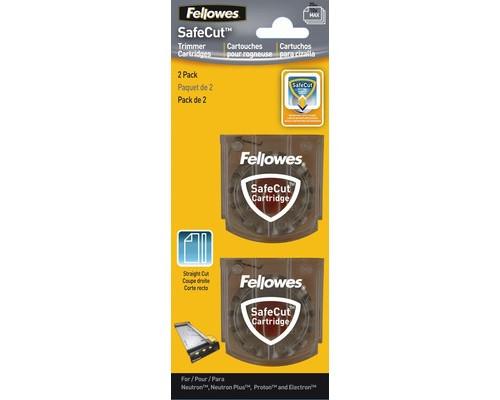 Лезвие для резаков для бумаги Fellowes SafeCut 54114 прямая резка 2 штуки в упаковке - (205866К)