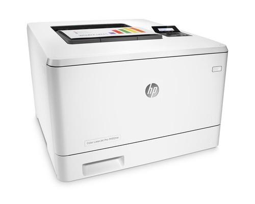 Лазерный цветной принтер HP Color LaserJet Pro M452nw - (534495К)