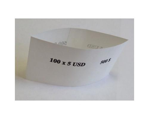 Кольцо бандерольное номинал 5 $ 40х76 мм 500 штук в упаковке - (329420К)