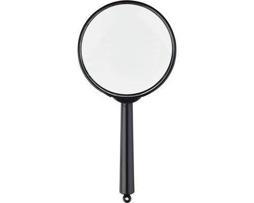 Лупа Attache диаметр 60 мм кратность увеличения 6 черная - (389241К)