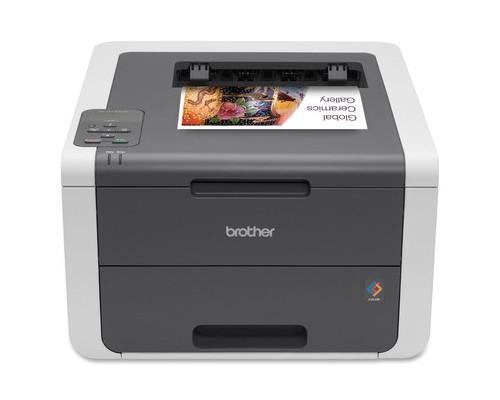 Лазерный цветной принтер Brother HL-3140CW - (492711К)
