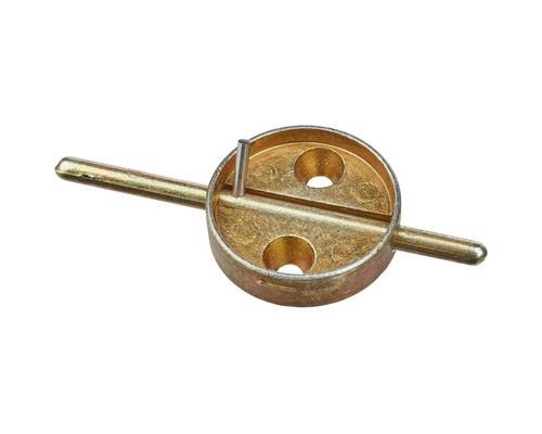 Плашка дюралевая со штоком диаметр 29 мм - (333687К)