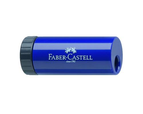 Точилка Faber-Castell с контейнером синяя - (398027К)