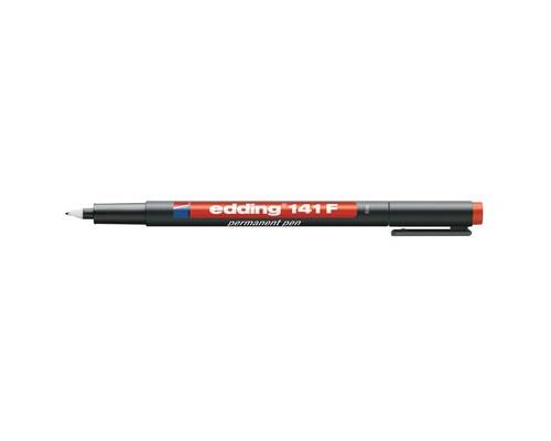 Маркер для пленок и глянцевых поверхностей Edding E-141-2 F красный толщина линии 0.6 мм - (537633К)