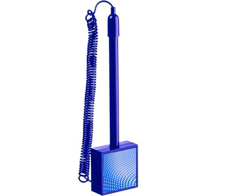 Ручка шариковая на липучке Attache Simple синяя для стены синий корпус толщина линии 0.5 мм - (490439К)