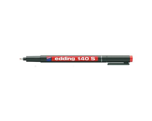 Маркер для пленок и глянцевых поверхностей Edding E-140-2 S красный толщина линии 0.3 мм - (87129К)