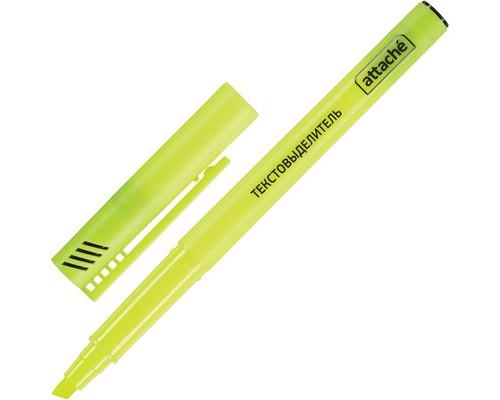 Текстовыделитель Attache желтый толщина линии 1-3 мм - (155801К)