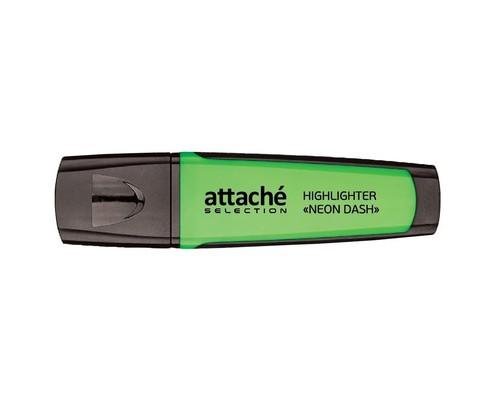 Текстовыделитель Attache Selection Neon Dash зеленый толщина линии 1-5 мм - (426882К)