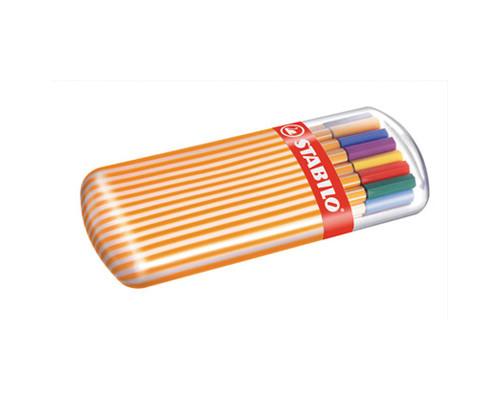 Набор линеров Stabilo Point 8820-02 толщина линии 0.4 мм 20 цветов - (105985К)