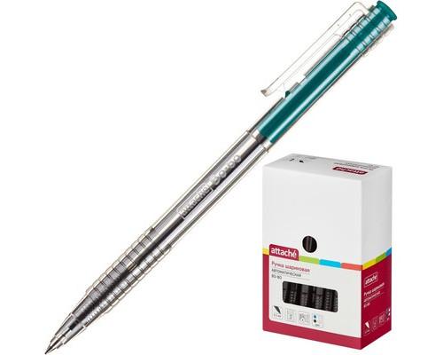 Ручка шариковая автоматическая Attache Bo-bo зеленая толщина линии 0.5 мм - (389769К)