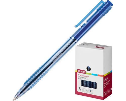 Ручка шариковая автоматическая Attache Bo-bo синяя толщина линии 0.5 мм - (131233К)