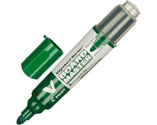 Маркер для досок Pilot WBMA-VBM-M-BG зеленый толщина линии 1-3 мм - (206946К)
