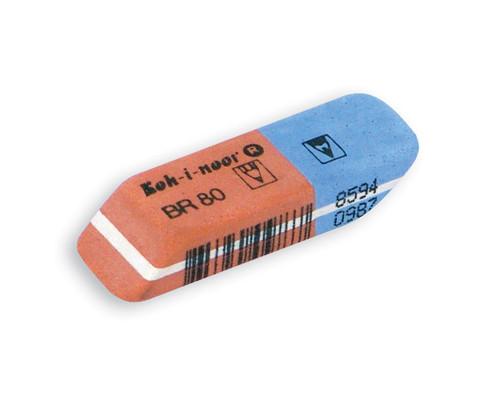 Ластик Koh-I-Noor 6521-80 комбинированный каучуковый - (2134К)