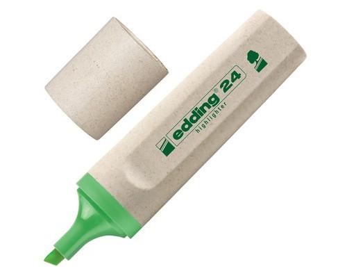 Текстовыделитель Edding Eco E-24-011 зеленый толщина линии 1-5 мм - (204291К)