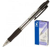 Ручка шариковая масляная автоматическая Pilot BPGP-10R-F черная толщина линии 0.32 мм - (32032К)